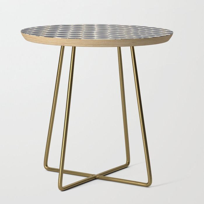 Half Rounds Side Table