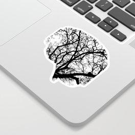 Brain Tree Sticker