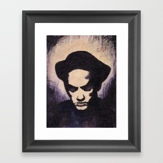 Losing My Religion Framed Art Print