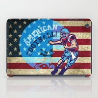nfl iPad Cases featuring American Football  by MaNia Creations