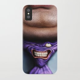 Man Fat and Tie iPhone Case