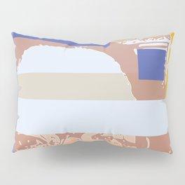 Through the blinds Pillow Sham