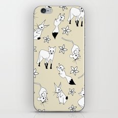 Woodland Creatures - Natural iPhone Skin
