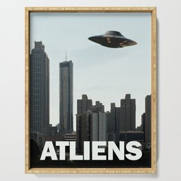 ATLIENS Serving Tray