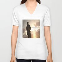 metal gear solid V-neck T-shirts featuring metal gear solid V  , metal gear solid V  games, metal gear solid V  blanket by Eirarose
