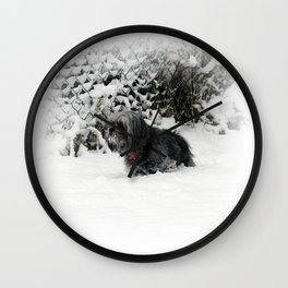 Cold feet Wall Clock