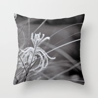 knight Throw Pillows featuring Knight by Reimerpics
