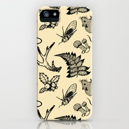 Forest Lurker Pattern iPhone Case