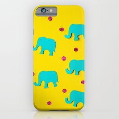 Playful Elephants Slim Case iPhone 6s