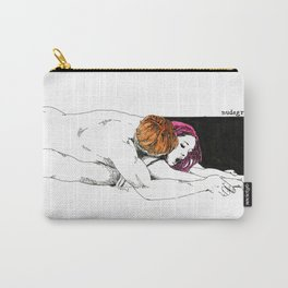 PinkHair Carry-All Pouch