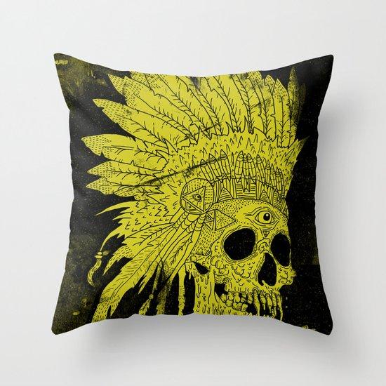 Kid Chief Throw Pillow