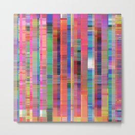Feature Geometry Metal Print