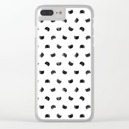 I See Cat People Clear iPhone Case