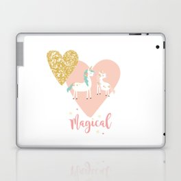 Magical Unicorn Valentine Couple Laptop & iPad Skin