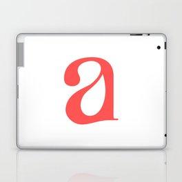 lowercase a Laptop & iPad Skin