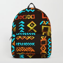Bold Ethnic pattern n.5 Backpack