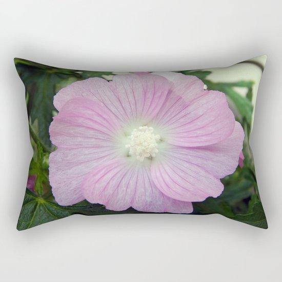 Pink Musk Mallow Rectangular Pillow