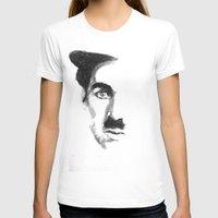 chaplin T-shirts featuring Chaplin by josie leigh