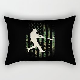 Baseball America Rectangular Pillow
