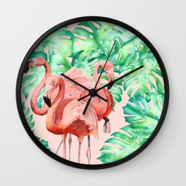 Flamingo Ivelin Wall Clock