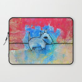 Dog No.1h by Kathy Morton Stanion Laptop Sleeve