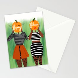 Pumkin Heads Stationery Cards