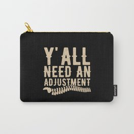 Chiropractor Chiropractic Carry-All Pouch