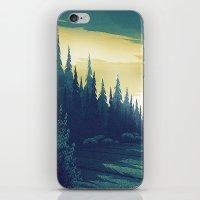 oregon iPhone & iPod Skins featuring Oregon Field by Big Friend