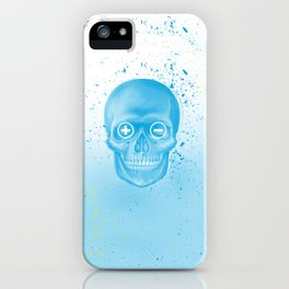 Blended skull iPhone Case
