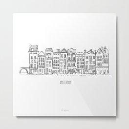Amsterdam Metal Print