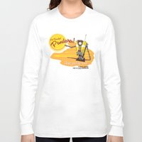borderlands Long Sleeve T-shirts featuring Visit Pandora! by Andy Hunt