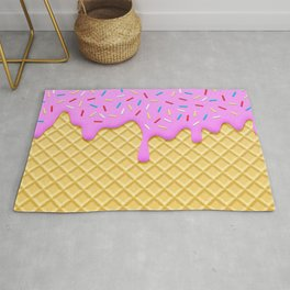 Strawberry Ice Cream Rug