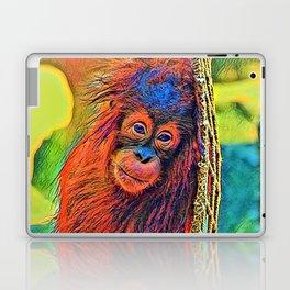 AnimalColor_OrangUtan_001_by_JAMColors Laptop & iPad Skin
