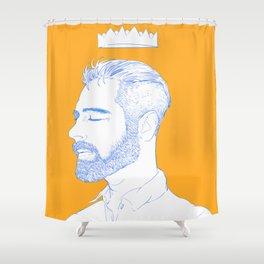 man Shower Curtain