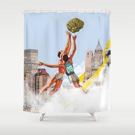 Basket Nugs Shower Curtain
