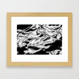 The Sea Like Lead Framed Art Print