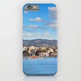 Lake Merritt Panorama - Oakland, California iPhone Case