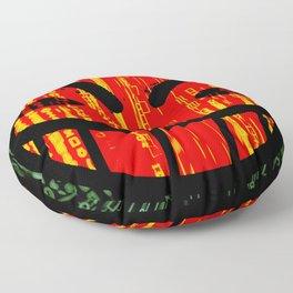 Cowboy Bebop Hacked Smile Floor Pillow