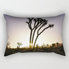 Joshua Tree Sunrise  Rectangular Pillow
