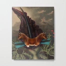 Dragon quagga Metal Print