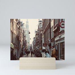 Streets of Amsterdam Mini Art Print