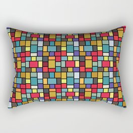 Rubik's mosaic Rectangular Pillow