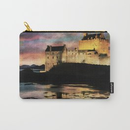Eilean Donan Castle at Sunset. Carry-All Pouch