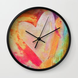 Heart No. 19 Wall Clock