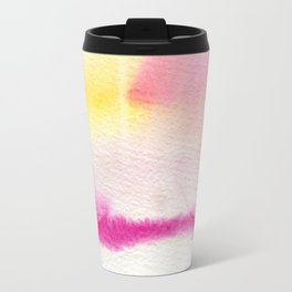 Smudge in pink Travel Mug