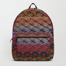 Art Deco Seigaiha 1 Backpack