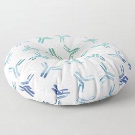 Rainbow Antibodies Floor Pillow