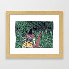 CAYENNE Framed Art Print