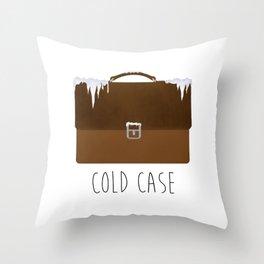 Cold Case Throw Pillow