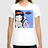 cocaine T-shirts featuring Snow White: Cocaine Attitude by Trash Apparel